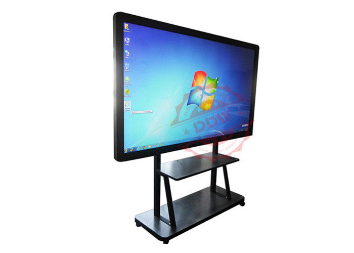 High Resolution Digital Signage Totem Interactive whiteboard Information Kiosk Advanced Ir Touch