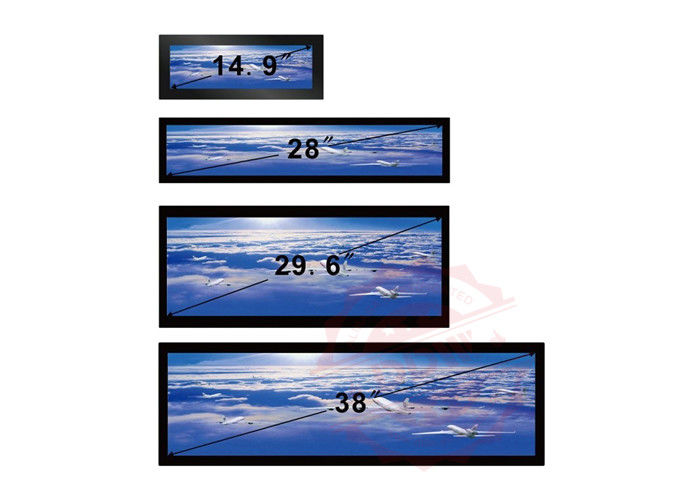 38 Inch Stretched Lcd Display 16/4 1920x1080P FHD Ultra Wide Android Os 700 Nits Hdmi VGA